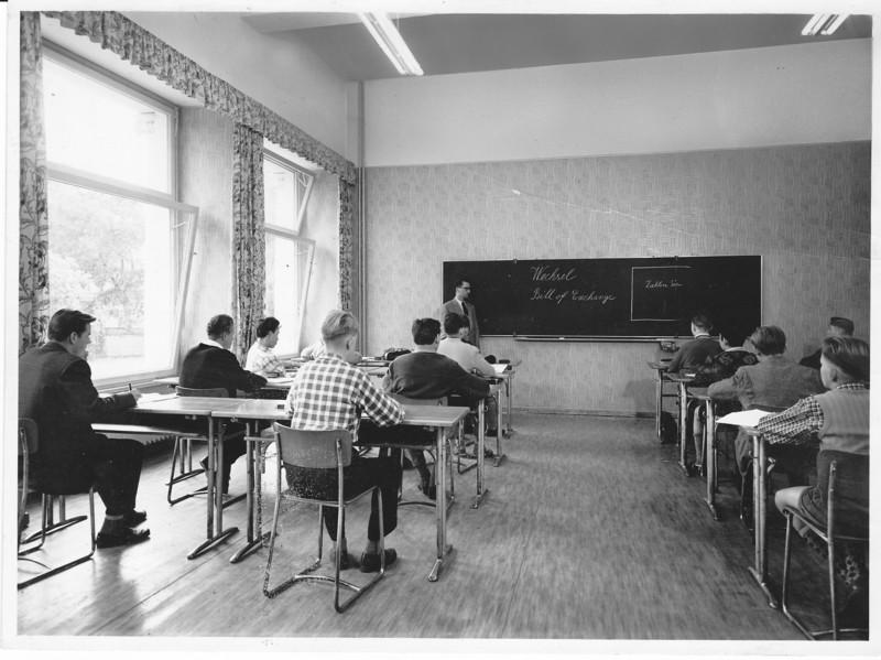 Unterricht im Internat Krüger